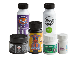Cannabis plastic bottles and closures