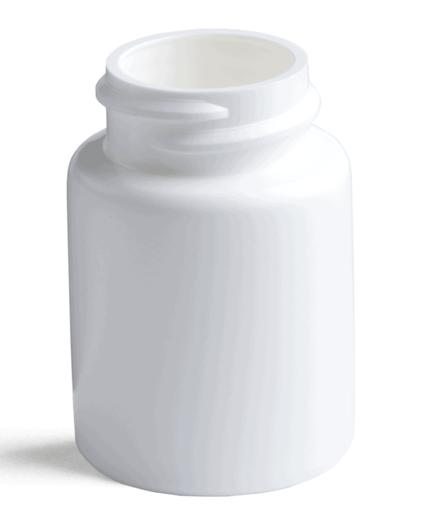 PharmaSure™ 30 cc Contemporary Series Wide-Mouth Pharmaceutical Round