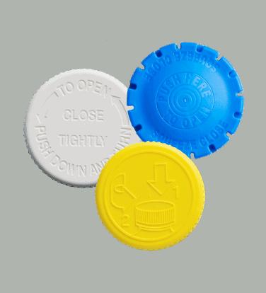 Plastic closures from Drug Plastics