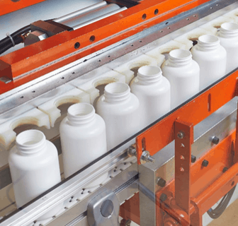 Manufacturing line of Drug Plastics plastic bottles